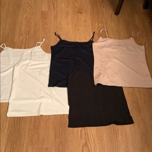 Set of 5 Ann Taylor Camisoles